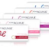 Acuvue define pack in 4 different colours
