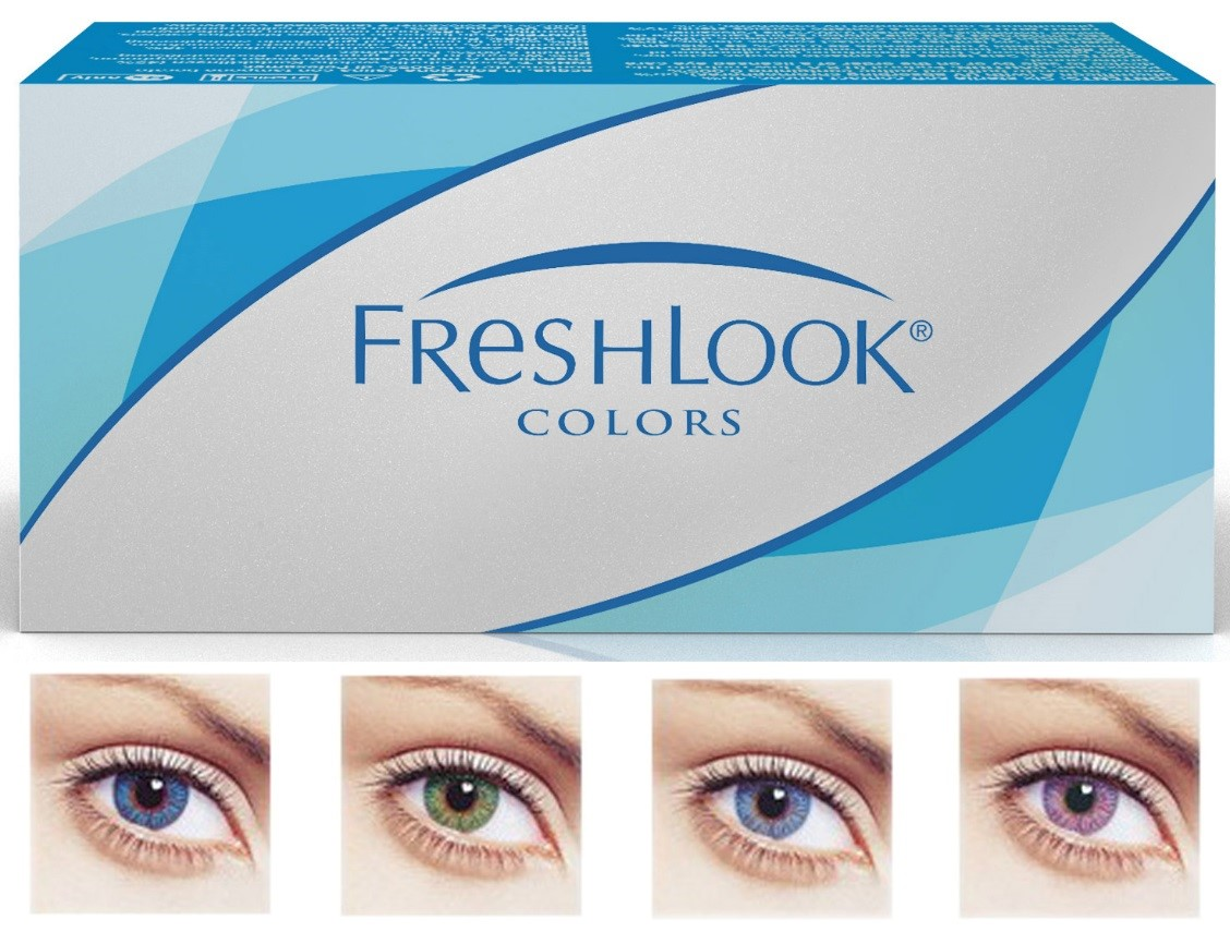freshlook colors 6 pack clarity optical