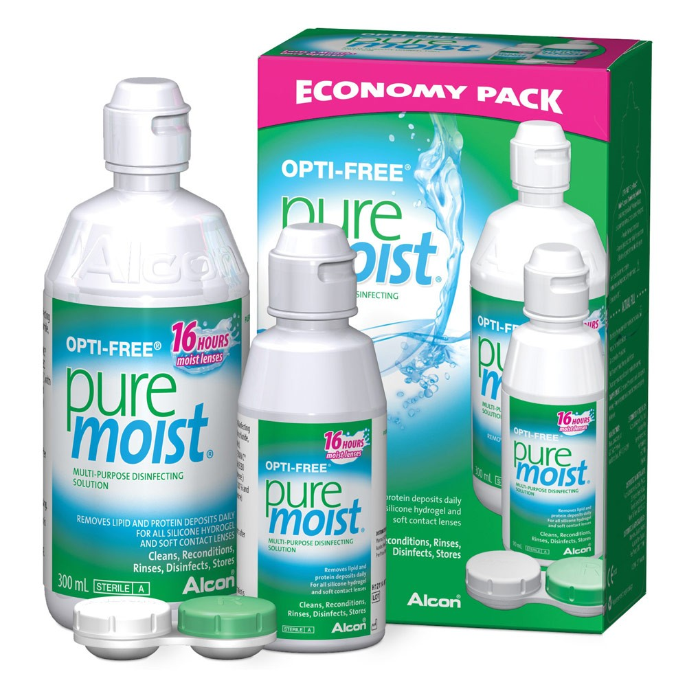 Multi-purpose disinfecting solution for contact lens